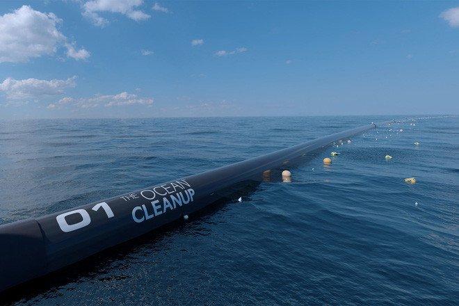 Đảo rác khổng lồtại Thái Bình Dương sẽđược dọn nhờ hệ thống tuyệt vời này