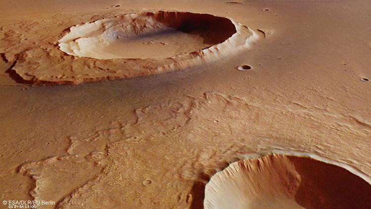 Dấu tích siêu lũ trải dài 3.000km trên sao Hỏa