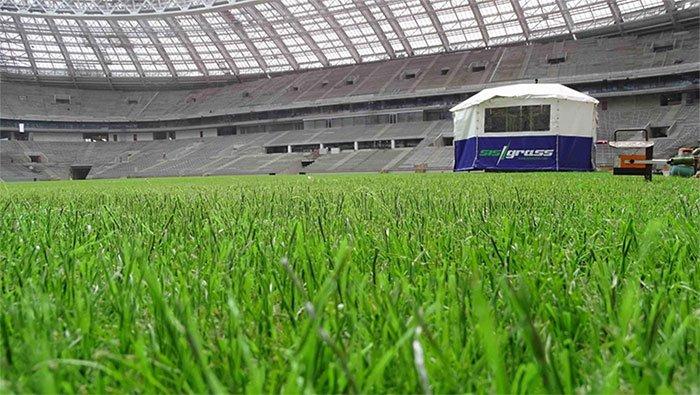 Đây là lí do chung kết World Cup 2018 sẽ sử dụng sân cỏ lai