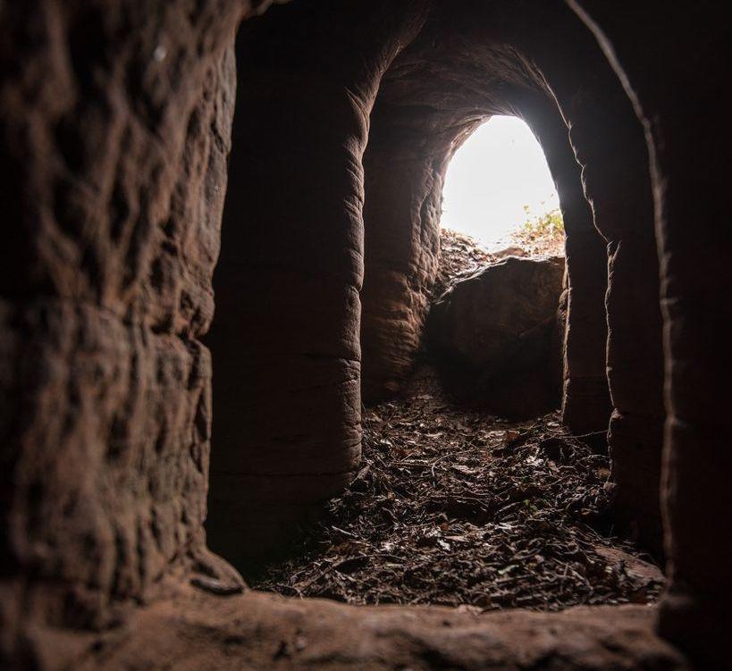 Đền thờ hiệp sĩ Thập tự chinh thế kỷ 14 trong lòng đất