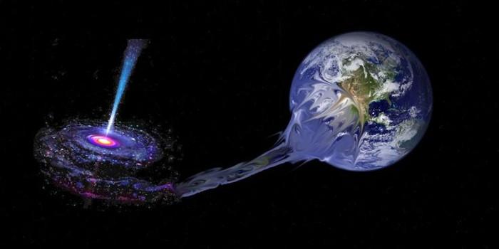 Điều gì xảy ra khi Trái Đất rơi vào hố đen?