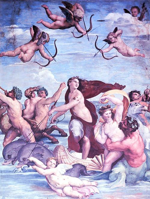 Điều ít biết về Hải vương tinh và huyền thoại tình yêu Galatea