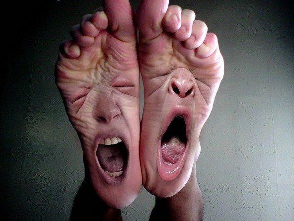 Đố bạn phân biệt 3 ngón chân bất trị ai cũng có