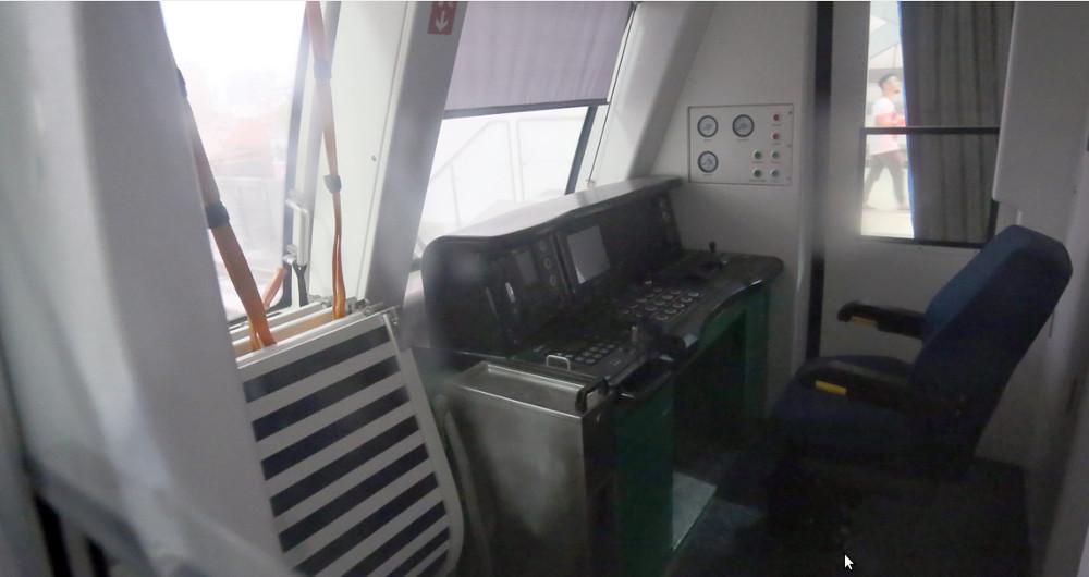 Đoàn tàu và nhà ga mẫu đầu tiên tuyến đường sắt Cát Linh - Hà Đông
