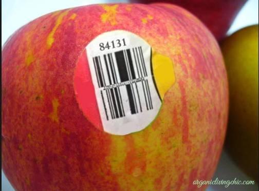 Đừng bao giờ mua những loại trái cây có mã code bắt đầu bằng số 8