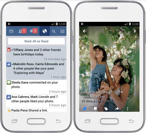 Facebook Lite giải pháp cho kết nối internet chậm