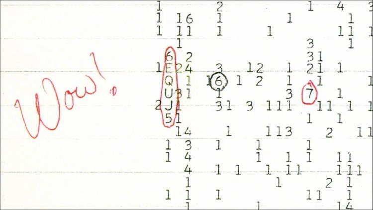 Giả thuyết mới về tín hiệu Wow! nghi của người ngoài hành tinh