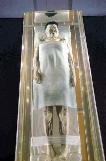 Giải mã bí ẩn xác ướp mỹ nhân ngủ yên 2.000 năm