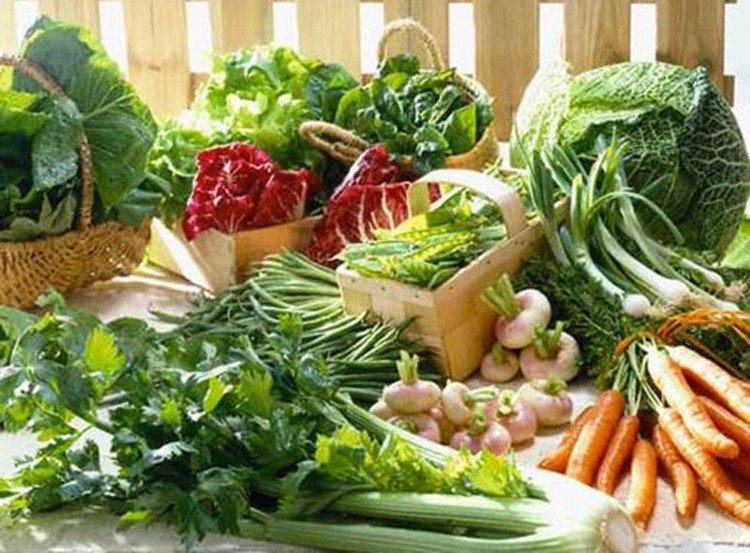 Giảm huyết áp bằng chế độ ăn rau củ quả giàu kali