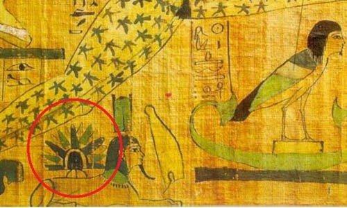 Giật mình bằng chứng UFO từng hạ cánh trên tượng Nhân sư
