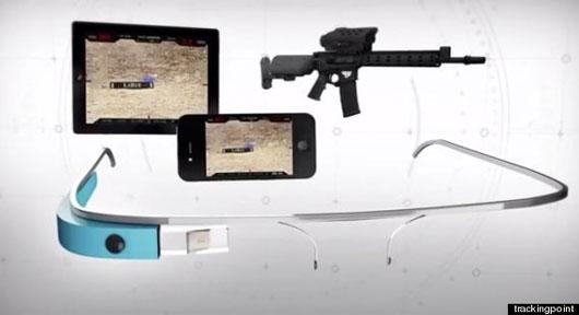 Google Glass với súng trường giúp bắn không cần ngắm