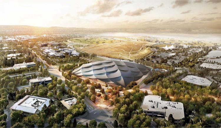 Google tính xây dựng khuôn viên công nghệ xanh