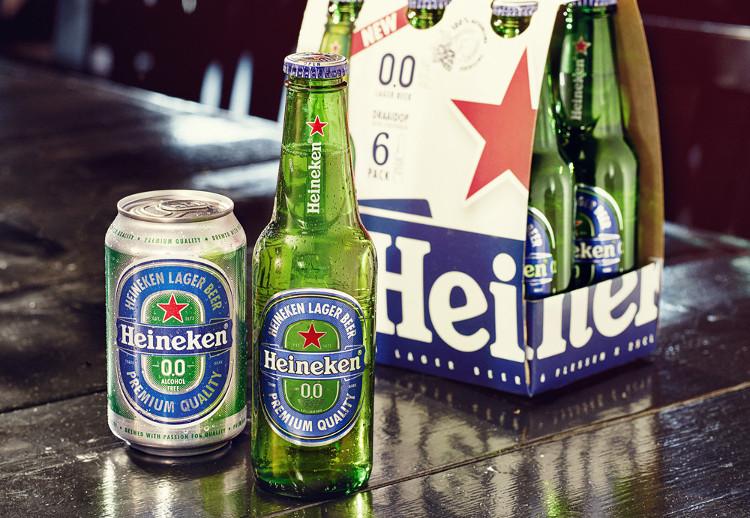 Heineken ra mắt bia... không cồn