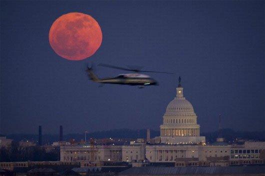 Hiện tượng Trăng máu ngày 8/10 và huyền thoại 4 kỳ trăng máu