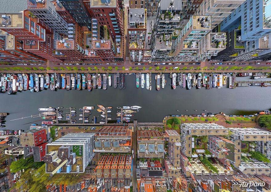 Hình ảnh ấn tượng của đô thị các nước từ trên cao