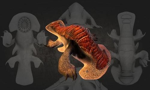 Hình ảnh mô phỏng sinh vật sống trên hành tinh gần sao lùn đỏ