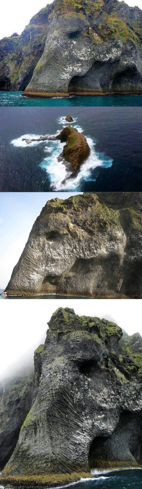 Hóa ra đảo con voi trong siêu phẩm One Piece là có thật