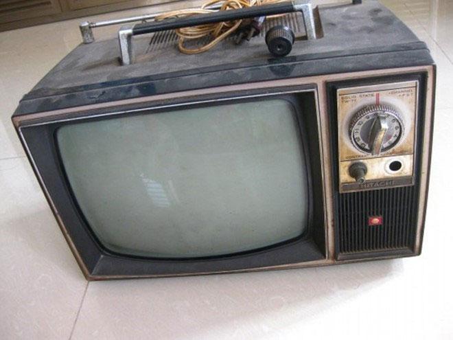 Hoài niệm những chiếc tivi đen trắng thời bao cấp