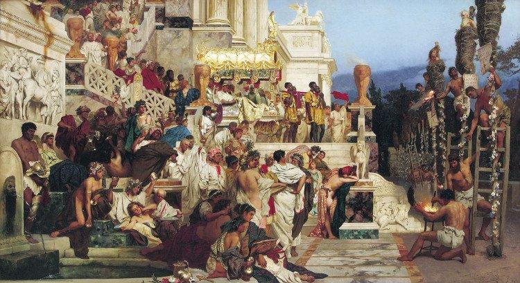 Hoàng đế La Mã và những sở thích phòng the khiến người đời rùng mình (Phần 1)