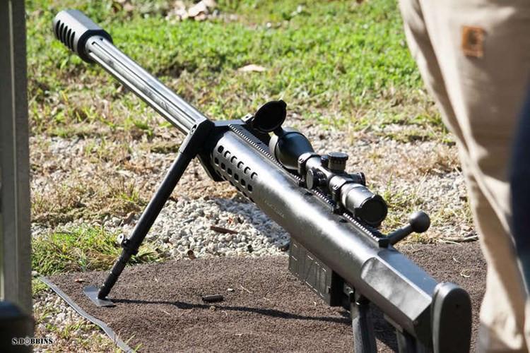 Hoảng hồn sức mạnh của súng trường cỡ 20mm