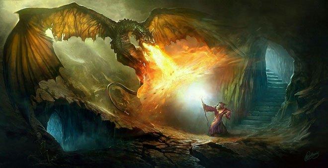 Hỏi khó: Rồng phun lửa quá quen rồi nhưng khi đó hàm răng của chúng còn hay mất?