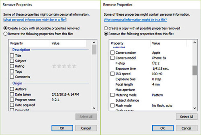 Hướng dẫn cách loại bỏ thông tin cá nhân khỏi bức ảnh trong Windows 10