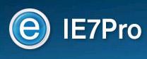IE7Pro - Người phụ tá đắc lực của Internet Explorer 7