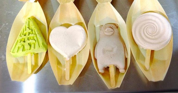 Kem để nhiều giờ không chảy ở Nhật