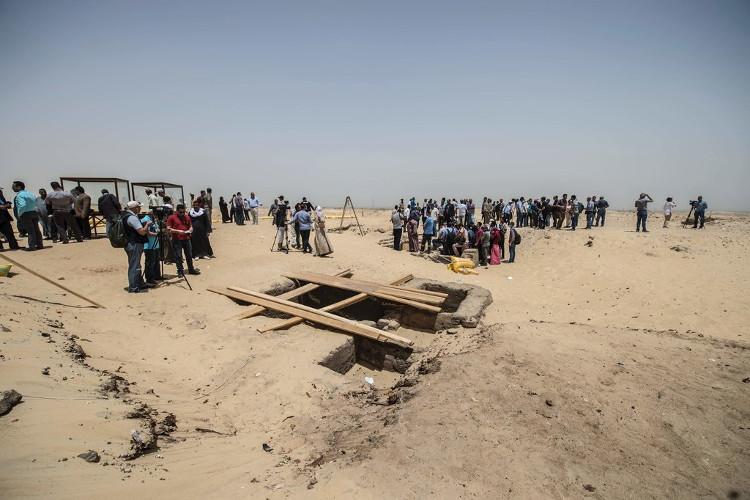 Khai quật mộ cổ Ai Cập 2300 năm tuổi - ít nhất 17 xác ướp cấp cao được tìm thấy