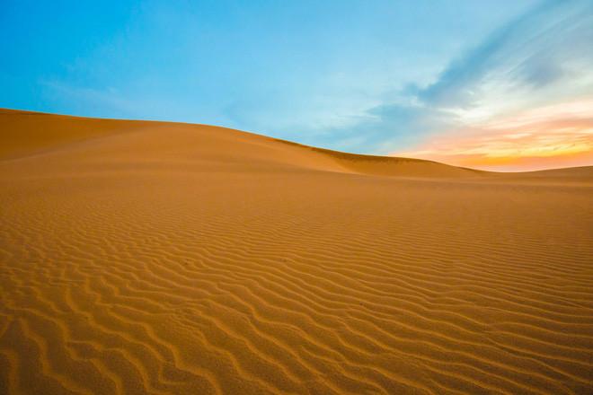 Khám phá đồi cát giống thế giới trong Ngàn lẻ một đêm ở Nhật Bản