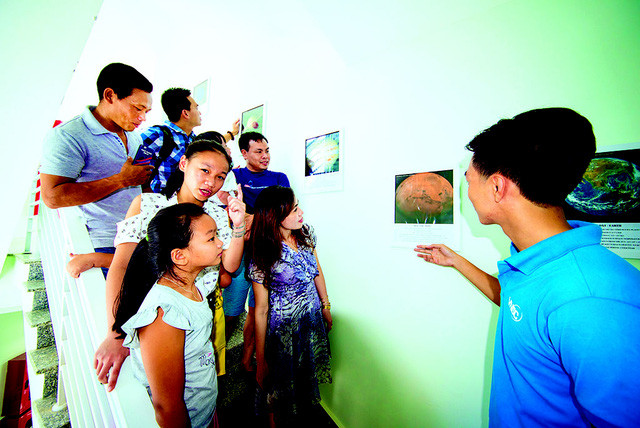 Khám phá vũ trụ ở đài thiên văn đầu tiên của Việt Nam