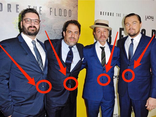 Không ai mặc suit lại đi cài chiếc cúc cuối cùng và đây là lý do cho việc làm kỳ quái đó