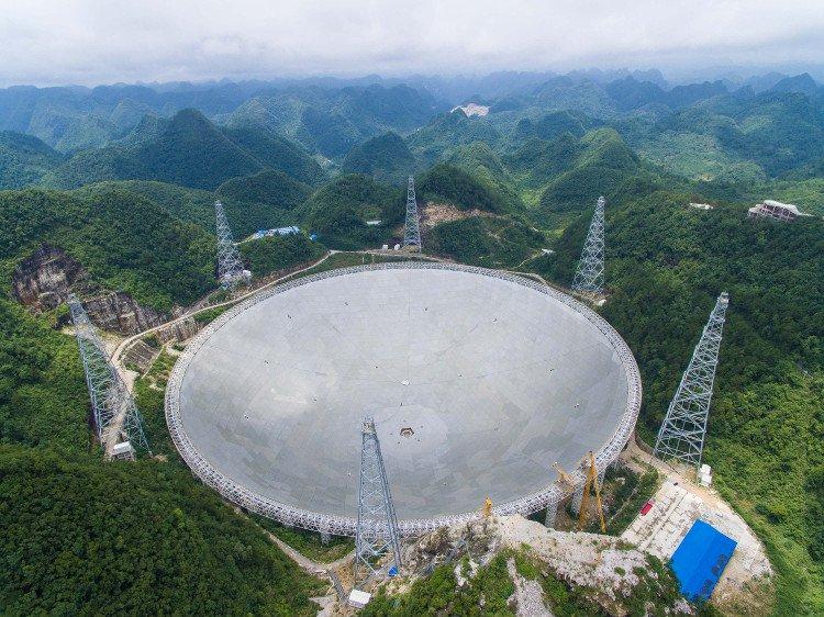 Không người vận hành, kính thiên văn lớn nhất thế giới của Trung Quốc ế ẩm
