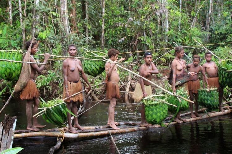 Kỳ lạ bộ lạc duy nhất không sống ở mặt đất