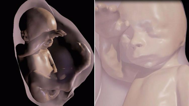 Lần đầu tiên cha mẹ có thể gặp thai nhi qua thực tế ảo 3D