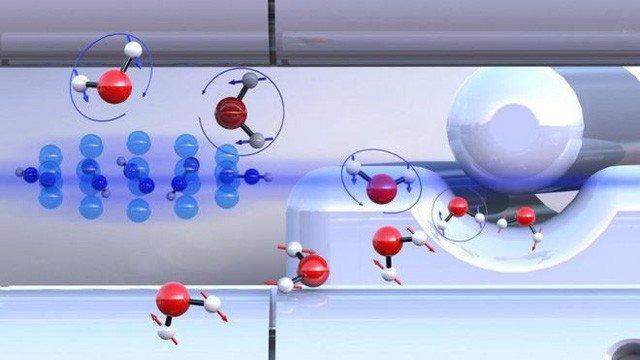 Lần đầu tiên phân lập H2O thành hai loại nước