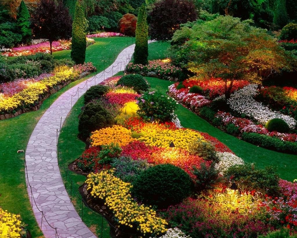 Lặng ngắm vườn hoa địa đàng đẹp nhất thế giới