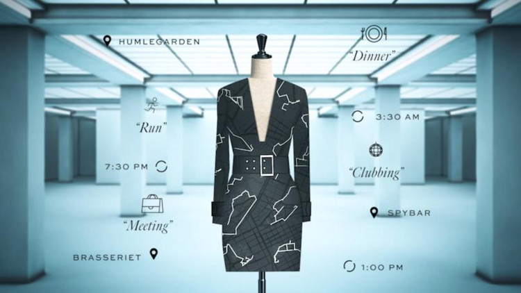 Lập tức sành điệu, cá tính với ứng dụng váy điện tử