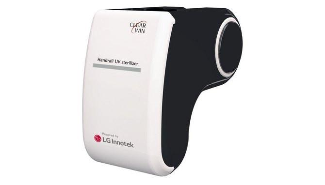 LG ra mắt thiết bị diệt khuẩn bằng tia cực tím trên lan can thang cuốn