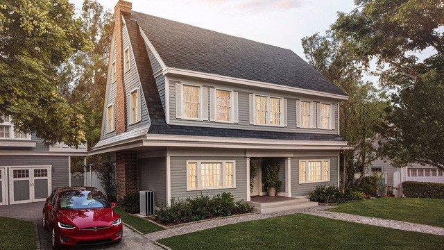 Mái ngói năng lượng mặt trời của Tesla rẻ hơn mái ngói thường, bảo hành vĩnh viễn