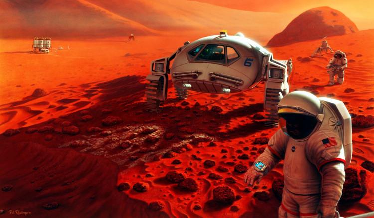 Mảnh ghép còn thiếu khi chinh phục sao Hỏa chính là thứ bột trắng này