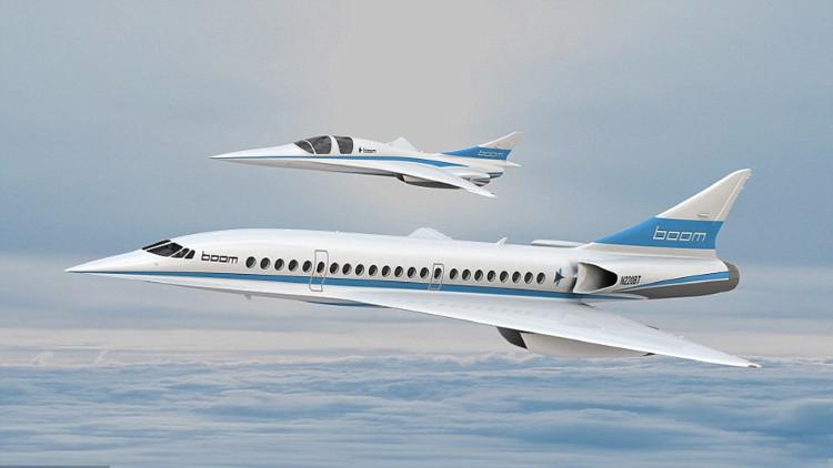 Máy bay chở khách tốc độ gấp đôi âm thanh sắp thử nghiệm
