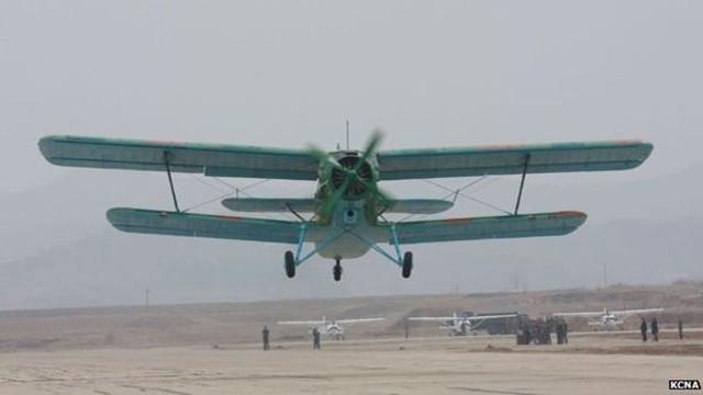 Máy bay có thể... bay lùi, niềm tự hào của Bắc Triều Tiên