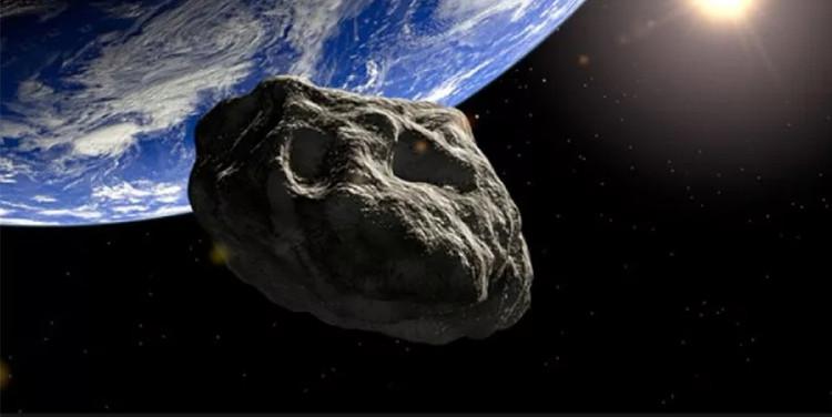 Một tiểu hành tinh đang đâm bổ vào Trái đất