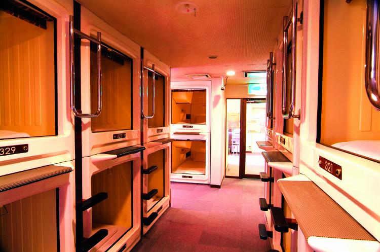 Mục sở thị những căn phòng ốc sên siêu nhỏ - đặc sản của người Nhật