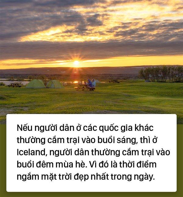 Muốn thấy mặt trời cả ngày không lặn, hãy đến Iceland!