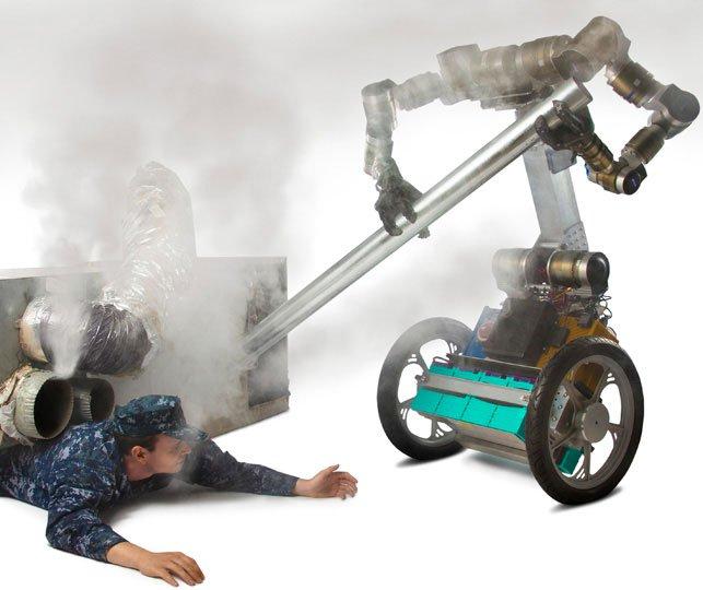 Mỹ đầu tư thiết kế robot cứu hộ đặc biệt