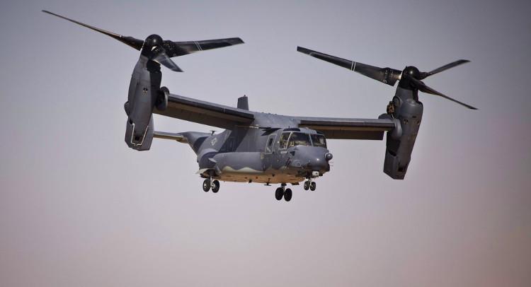 Mỹ sắp trang bị vũ khí tối tân cho chim ưng biển V-22 Osprey