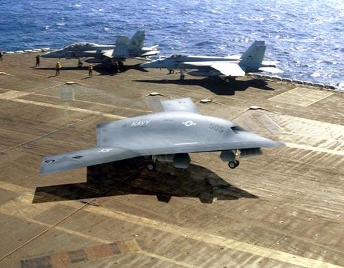 Mỹ thử nghiệm thành công máy bay ném bom không người lái