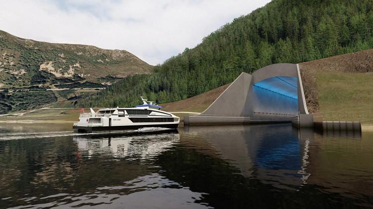 Na Uy xây đường hầm cho tàu đầu tiên trên thế giới